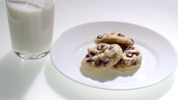 Thumbnail for Chocolate Chip Cookies with Milk