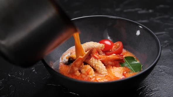 Traditional Food Preparation Concept