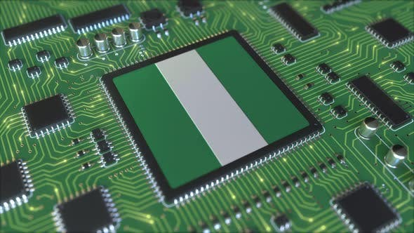 Thumbnail for Flag of Nigeria on the Operating Chipset