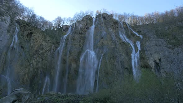 Thumbnail for The Big Waterfall of Plitvice Park