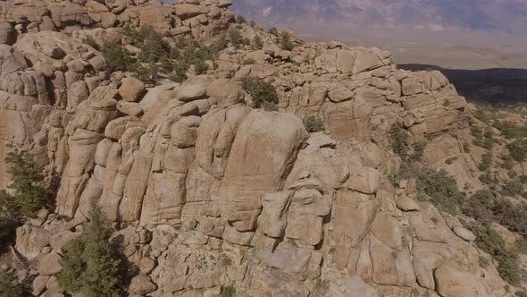 Thumbnail for Aerial Shot Rock Formation