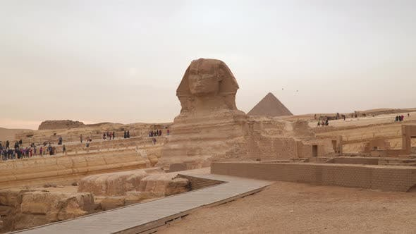 The Great Sphinx of Giza, commonly referred to as the Sphinx of Giza or just the Sphinx