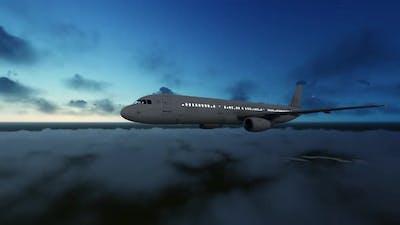Aircraft at Night