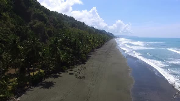 Thumbnail for Virgin Unspoiled Caribbean Tropical Corcovado Beach