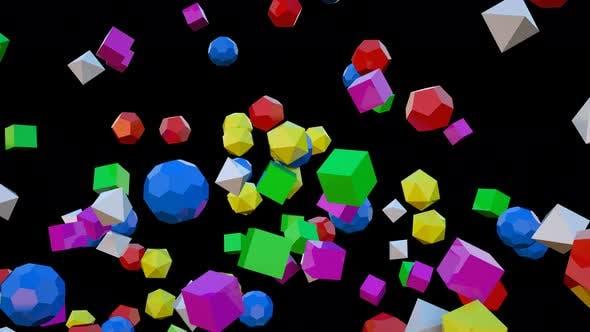 Thumbnail for Colorful Geometric 04 4k