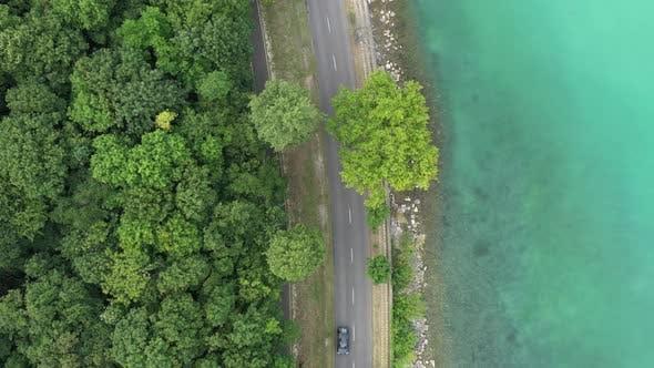 Thumbnail for Moving Cars Near The Lake
