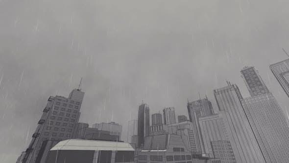 Thumbnail for Sketch Stadt und Regen