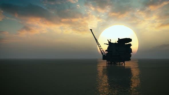 Cover Image for Offshore Oil Platform