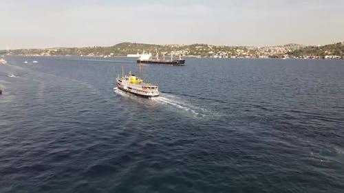 Ferry Boat Istanbul Symbol