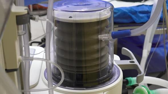 Beatmungsgerät und Anästhesie Maschine 3