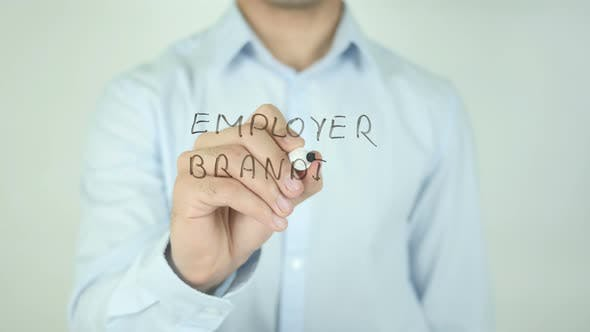 Cover Image for Employer Branding, Writing On Screen