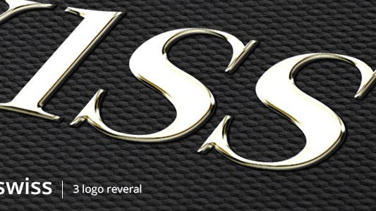 Thumbnail for Swiss Logo - Gold Silver