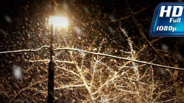 Thumbnail for Night Snowfall 2