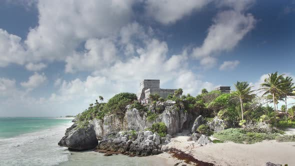 Thumbnail for Fast Loopable Footage of Tulum, Mexico
