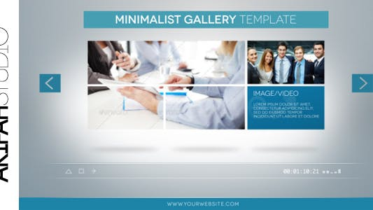 Thumbnail for Clean Minimal Gallery Promotion