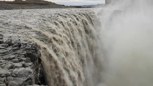 Thumbnail for Waterfall Dettifoss in Iceland