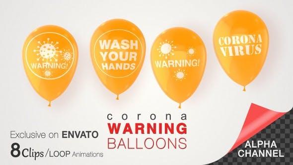 Corona-Viruswarnzeichen