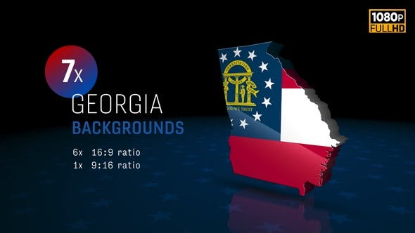 Georgia State Election Backgrounds HD - 7 Pack