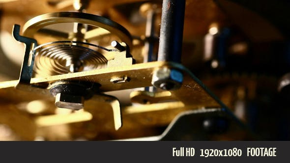 Thumbnail for Old Clock Mechanism 1
