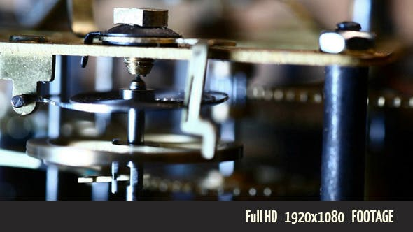Thumbnail for Old Clock Mechanism 2