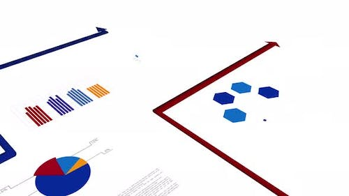 Digital Animated Info Graphic Charts and Diagrams