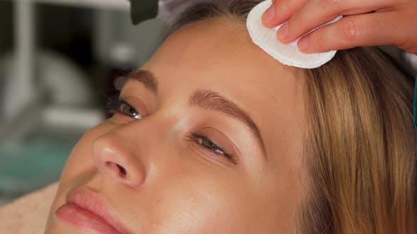 Thumbnail for Woman with Flawless Skin Enjoying Ultrasonic Facial 1080p