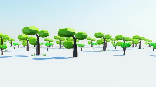 Cover Image for Cartoon Tree 4k