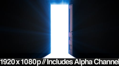 Doorway Opening for Opportunity + ALPHA Channel
