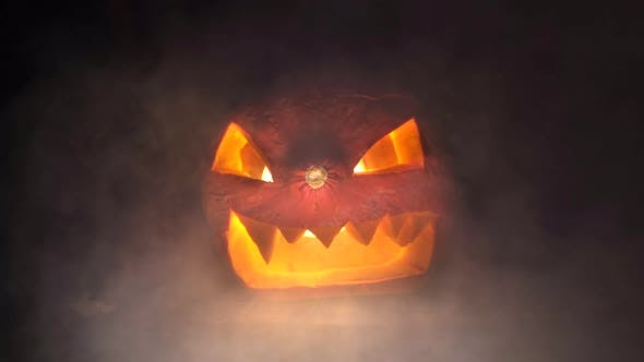 Thumbnail for Halloween Pumpkin and Smoke