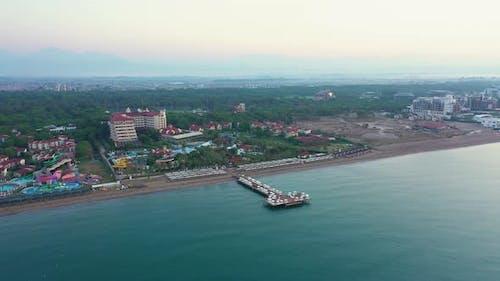 Coastline Resort in Antalya, Turkey.