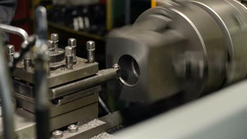 Processing of Cast Iron Parts on a Lathe.