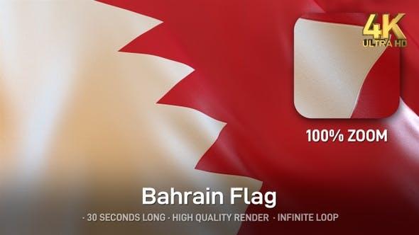 Thumbnail for Bahrain Flag - 4K
