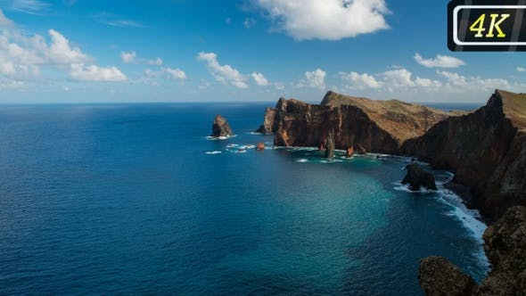 Sao Lorenco Nature Reserve on Madeira, Portugal