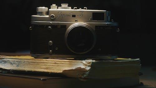 Triggering Timer Of Old Film Camera
