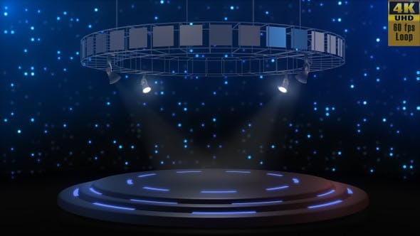 Thumbnail for Exciting Circular Stage Background Pack v2