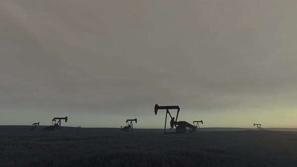 Thumbnail for Oil Pump Jacks - Oil Crisis