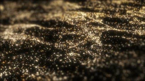 Golden Particles Field