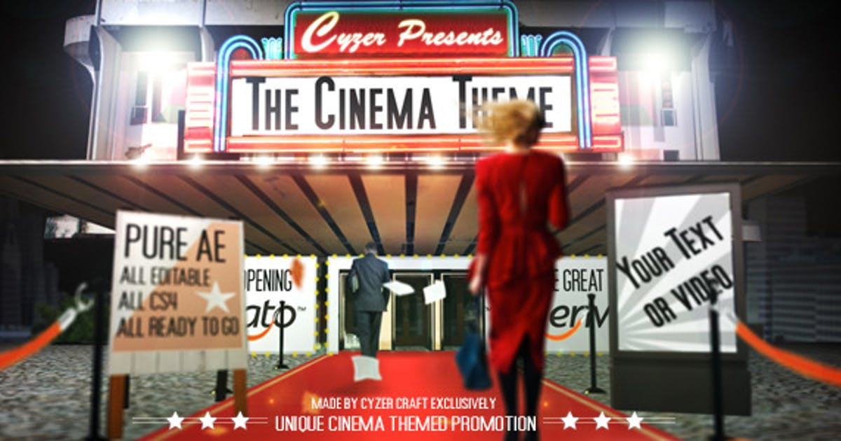 Download Cinema Movie Commercial Ad Promotion by cyzer