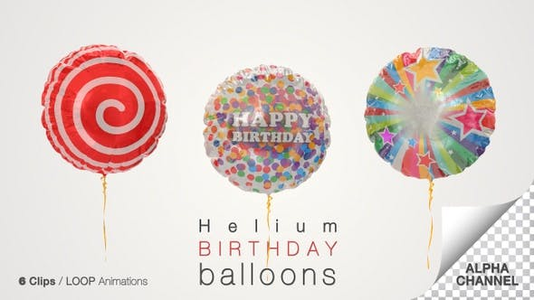 Thumbnail for Birthday Celebration Balloons