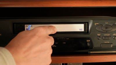 Tape Recorder VHS