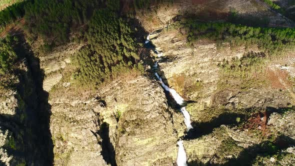 Thumbnail for Mountain River Aerial Shot