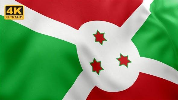Thumbnail for Flag of Burundi - 4K