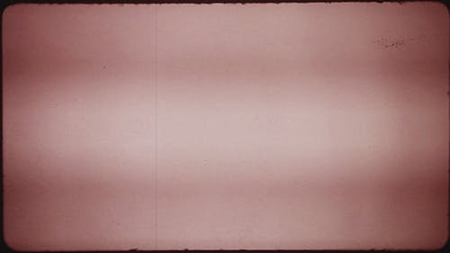 Red Tint Damaged Film