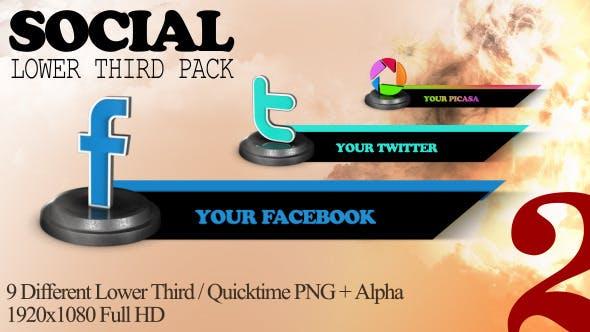 Social Lower Troisième Pack 2