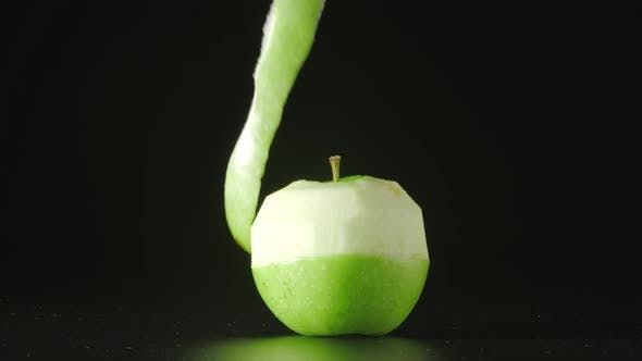 Thumbnail for Hand Cleans A Green Apple (Spiral)