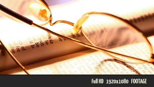 Thumbnail for Reading Glasses With Book
