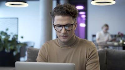 Portrait Of Stylish Freelance Business Professional
