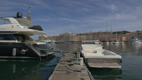 Thumbnail for Boats moored in Port de Saint-Tropez