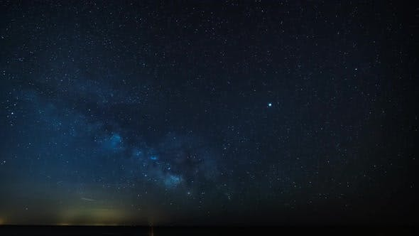 Thumbnail for Milky Way Timelapse Night to Day