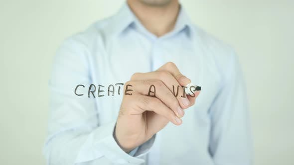 Thumbnail for Create a Vision, Writing On Screen